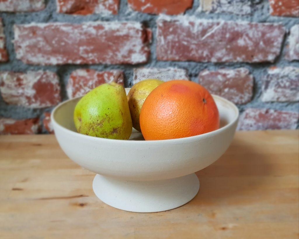 Céramique Par YA / coupe à fruits