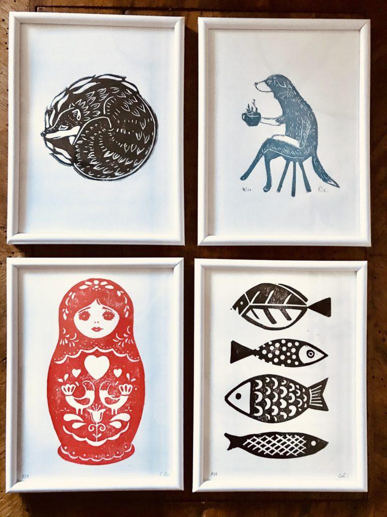 Mes petites illustrations - Estampe - Colin Bumac