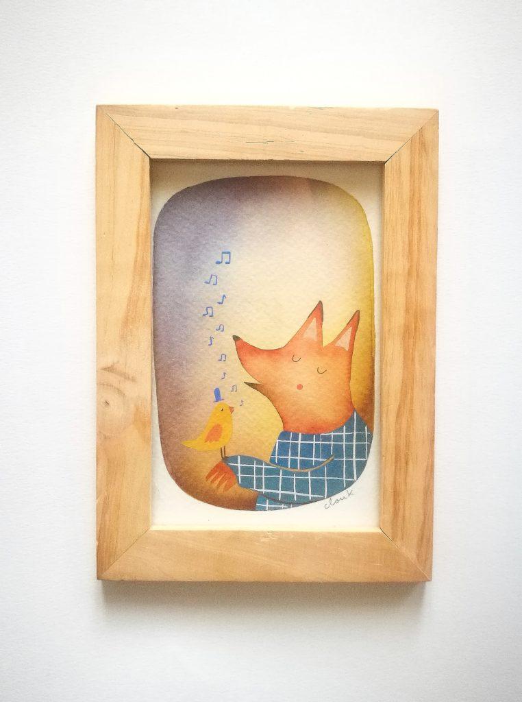 Le renard - Cloük